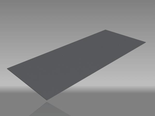 Aluminium Flat Plank Soffit