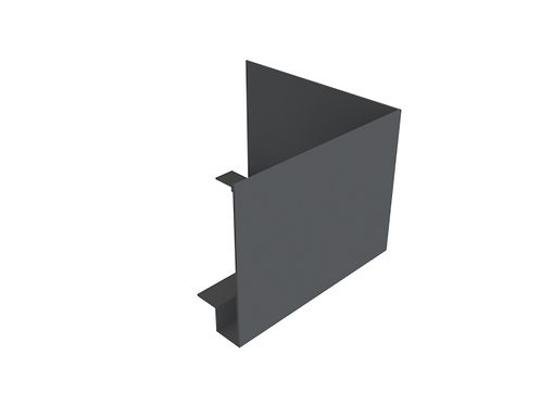 730-770mm Modern Fascia External 90 Degree Angle (Select Face Size)
