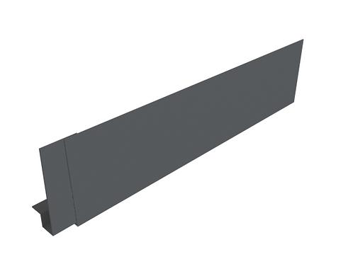 530-570mm Modern Fascia 3m Length (Select Face Size)