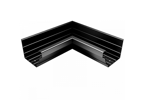 200x150mm Moulded Ogee Gutter Internal 90° Angle