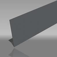 Aluminium 2 bend classic-plus fascia