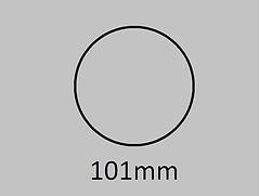 101mm round swaged rainwater pipe profile