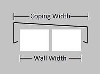sloping aluminium coping basic image