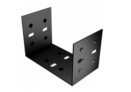 125x100mm Joggle Box Gutter Union Clip Aluminium Rainflow