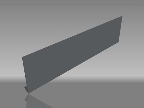 Drip edge aluminium fascia