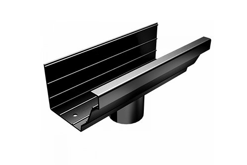 200x150mm Moulded Ogee Gutter Outlet (Select Pipe Size)