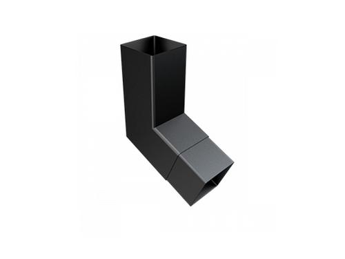 101x101mm Square Flushjoint Downpipe 112 5 Degree Bend