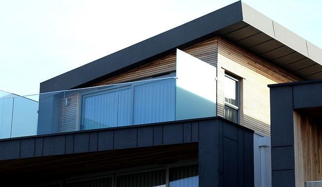 Aluminium fascia and soffit