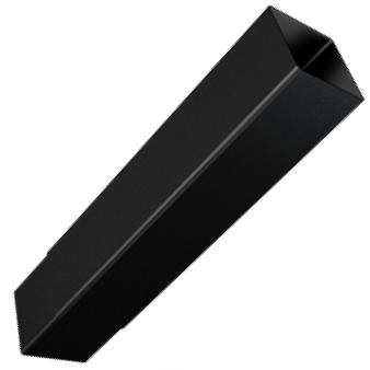 Square Aluminium Flushjoint Pipe