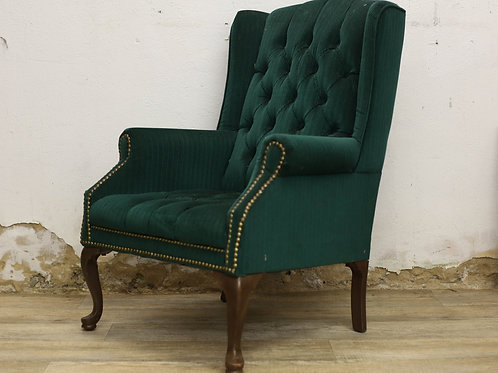 Green Corduroy Chair