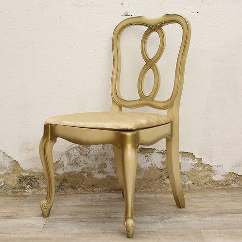 Gold Wooden Chair
