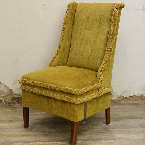 Mustard Chair w/ Fringe