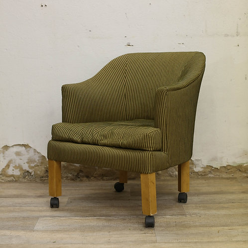 Green Roller Chair