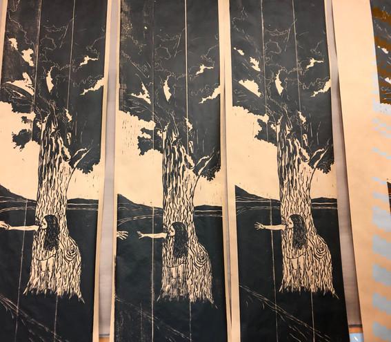 separatin - 3 panel print