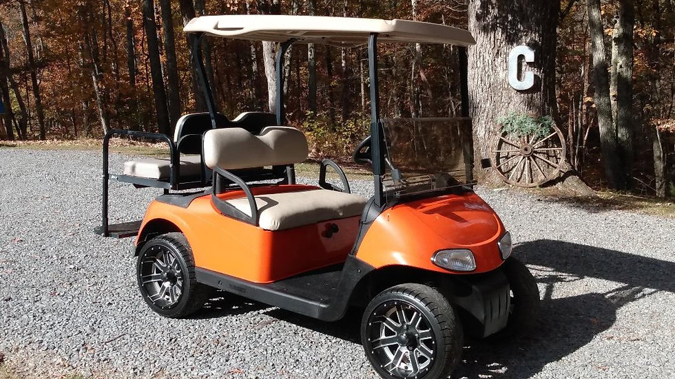 2012 EZGO RXV Gas Cart/SOLD