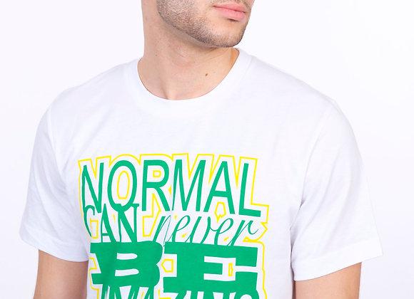 Normal Never Amazing (white/green/yellow)