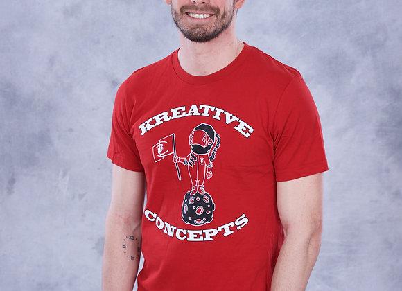 Kreative Spaceman (Red/Black/White)