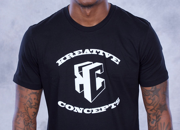 Kreative Concepts Logo (Black/White)