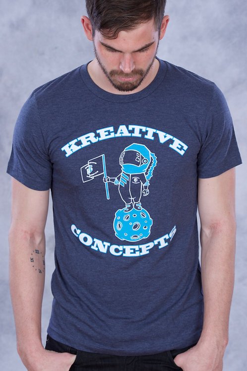 Kreative Spaceman (Navy/Cyan/White)