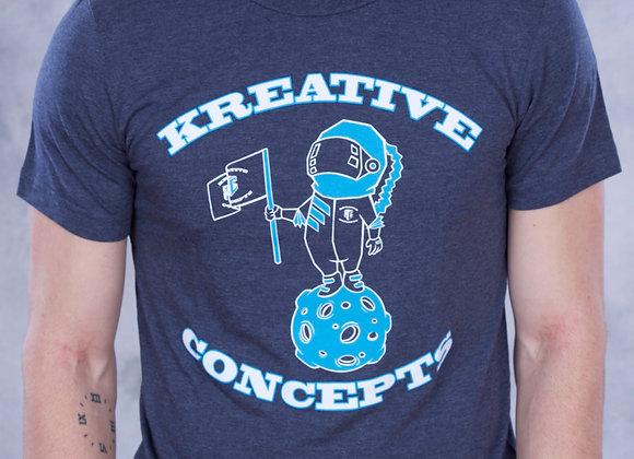 Kreative Spaceman (Navy/Cyan/White)