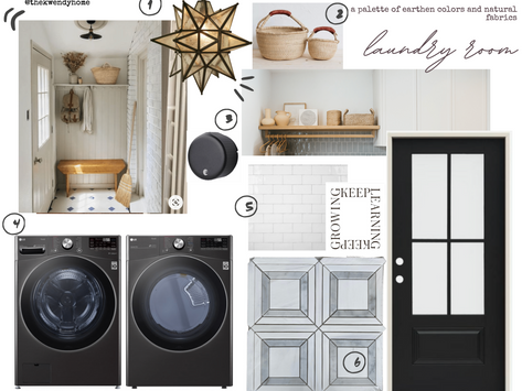 Our First Laundry Room! - Mood Board