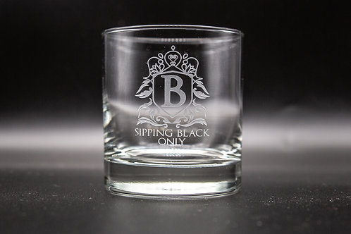 SBO Old Fashioned Glass (Set of 2)