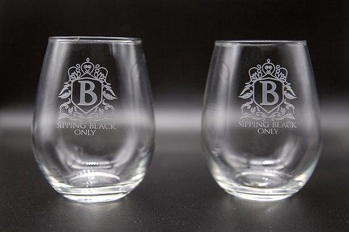 SBO Stemlesss Wine Glass (Set of 2)
