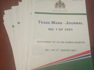 Gambia Publishes Missing Trade Mark  Journals