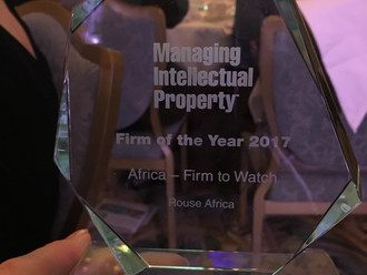 """Rouse Africa Takes Home """"The Africa-Firm to Watch"""" Award at Global IP Awards Ceremony."""