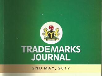 Nigerian Registry Releases New Trade Mark Journal.