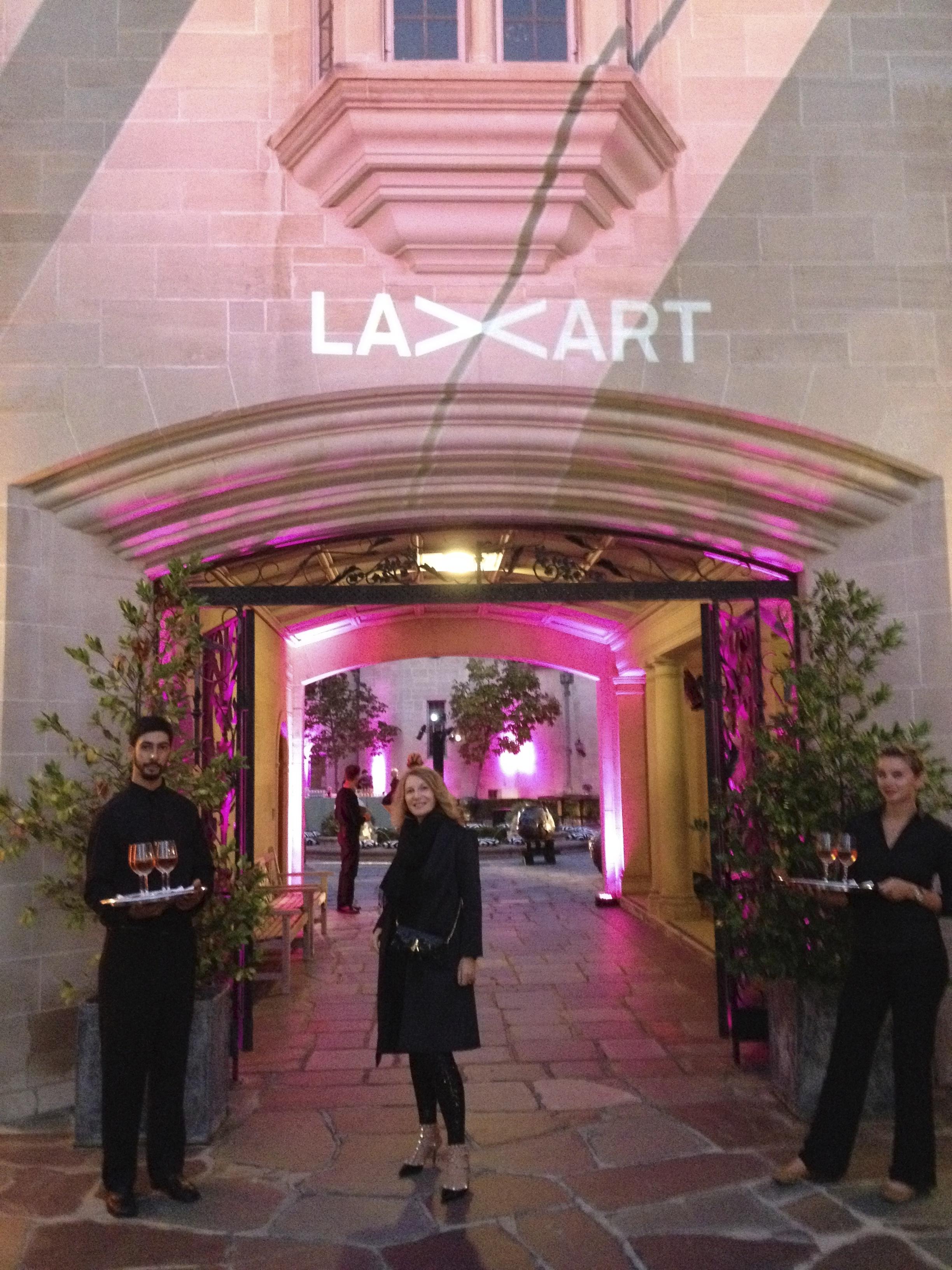 LAXArt Gala At Doheny mansion