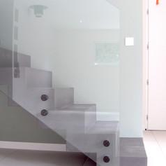 Détail escalier design