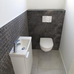 Nouveaux WC suspendus