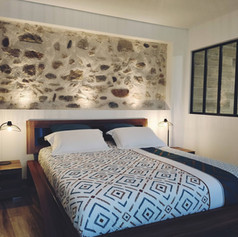 Rénovation chambre avec verrière