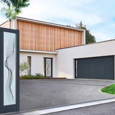 Porte garage sectionnelle Atlantem - Fabrication française