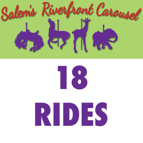 18 Rides Punchcard