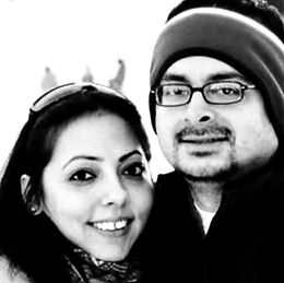 Priti and Avinash Jhangiani