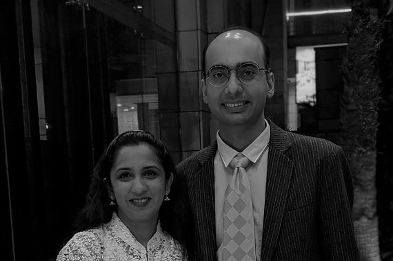 Smita Kothari and Pranav Kothari