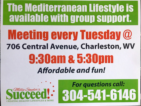 The Mediterranean Lifestyle: Group Support is Available