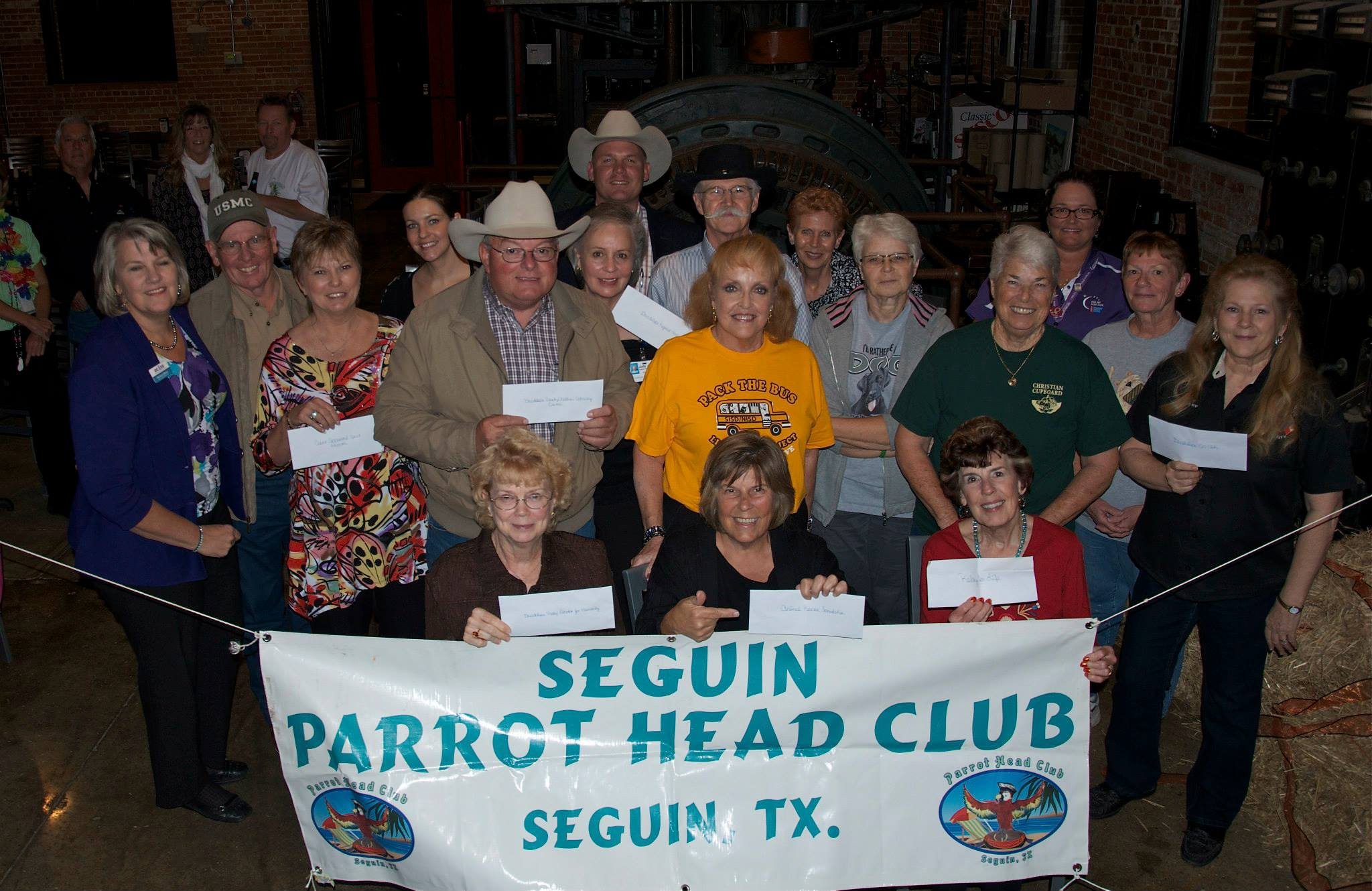 Seguin Parrot Head Club