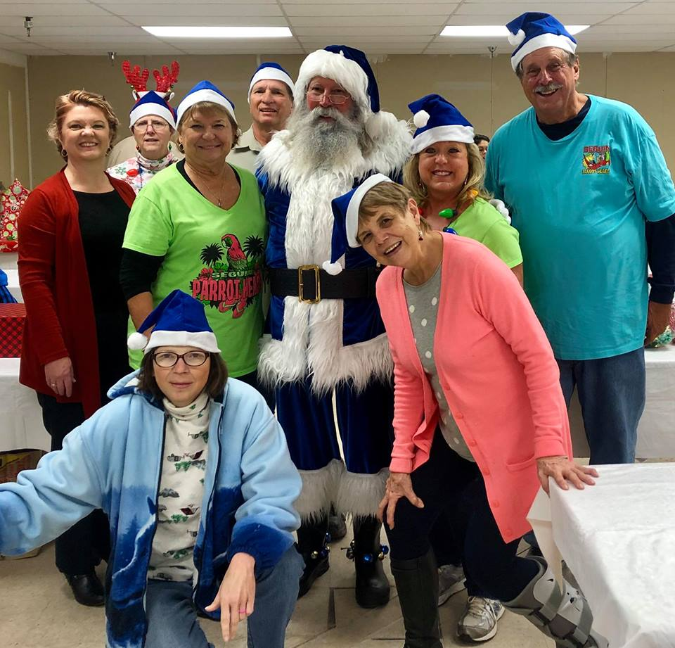 Blue Santa Workshop 12/2018