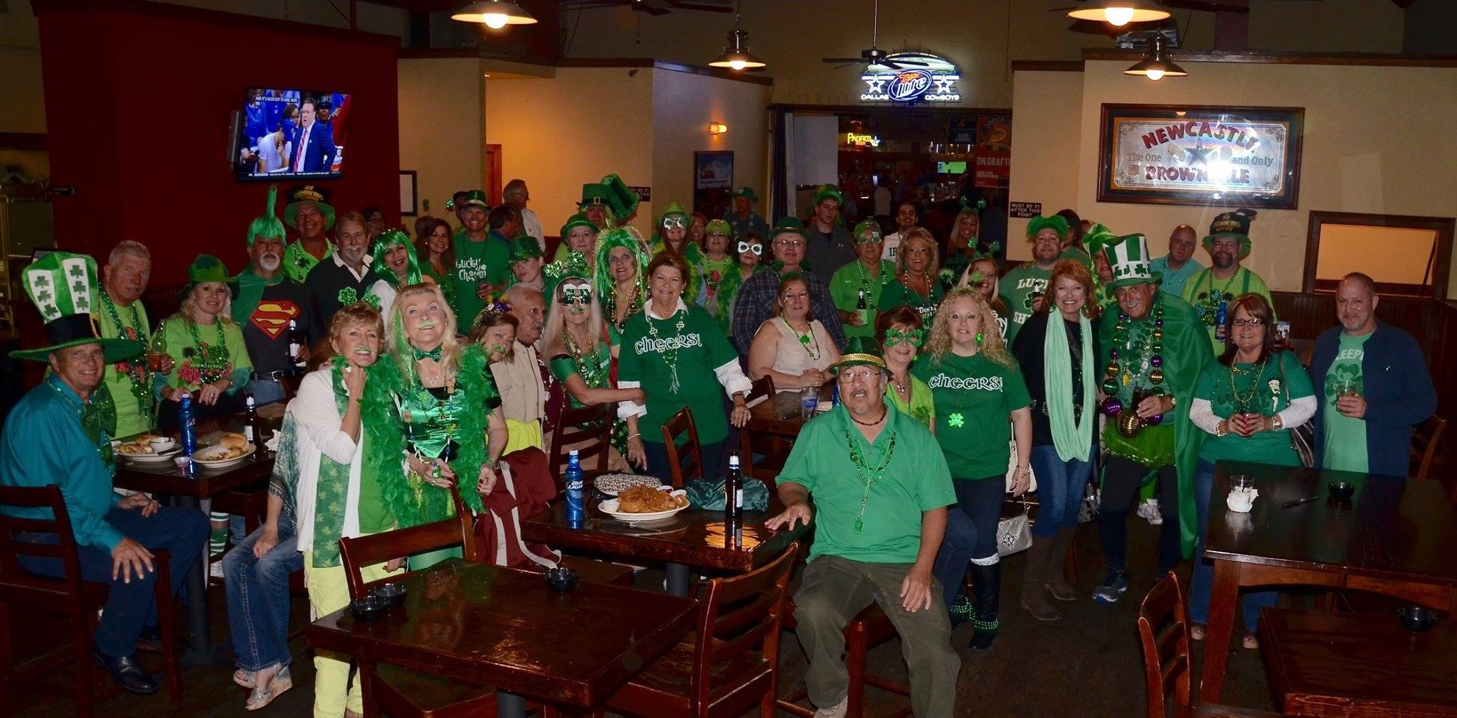 St. Patty's pub crawl 2016