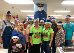 Blue Santa Workshop 12/2018