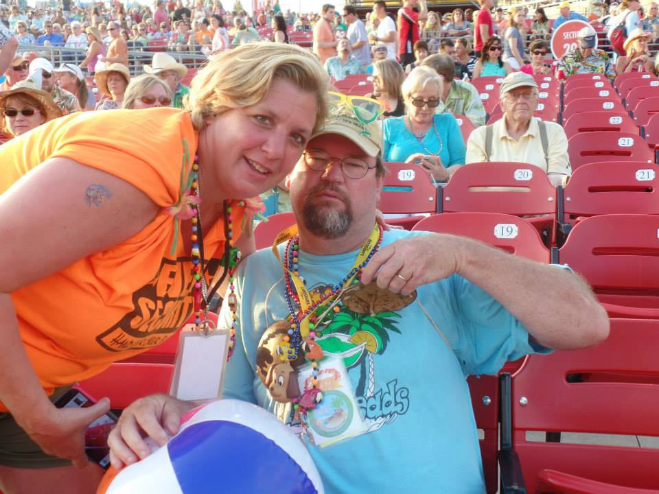 Jimmy Buffett Concert 5/2014