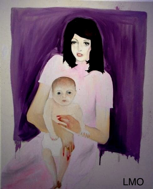 My Mother Christina and I