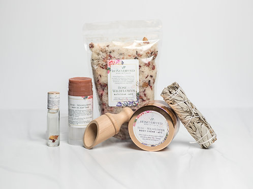 Honeydipped Essentials Body Care Collection