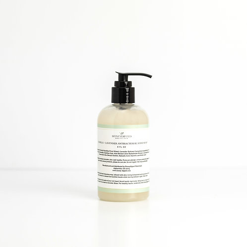 Vanilla + Lavender Antibacterial Hand Soap