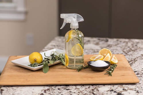 Honeydipped Essentials Sage + Citrus Cleaning Collection