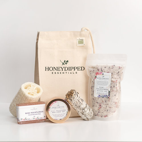 Honeydipped Essentials Gift Bag Set