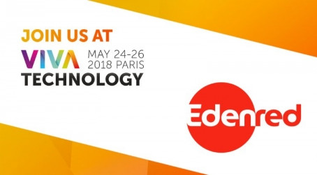 Edenred is proud to be part of Vivatech, the world's meeting for startups and leaders